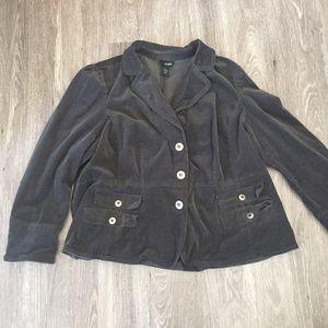 Lane Bryant corduroy Blazer jacket